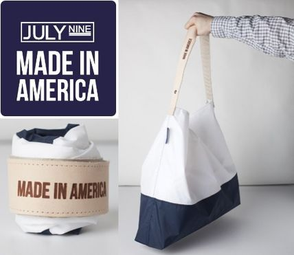 American popular tote feedback L size JULY NINE /