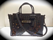 【Coach】最新カラー!swagger 27 in embellished☆ブラック