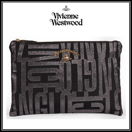 *Vivienne Westwood*Anglo ジャカード クラッチバッグ