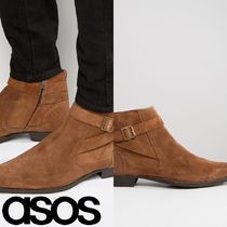 ASOS(エイソス) ブーツ 売切確実ASOS Chelsea Boot With Strap Detail