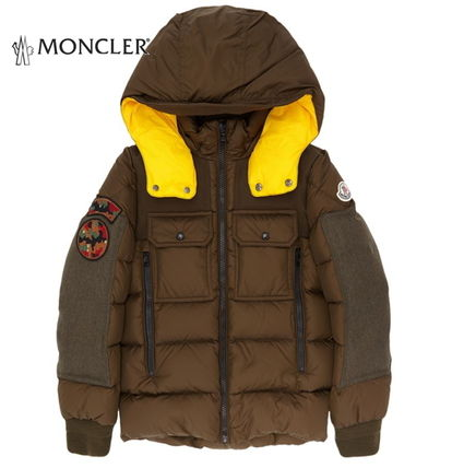 16aw☆MONCLER Dimieret Army Patch 12/14歳大人もOK!【関税込】
