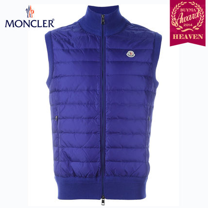 TOPセラー賞受賞!16/17秋冬┃MONCLER★PADDED GILET┃ブルー