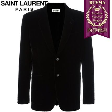 16/17秋冬入荷!┃SAINT LAURENT┃ VELVET BLAZER┃11640696
