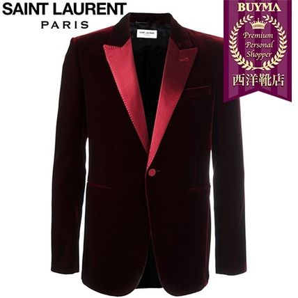 16/17秋冬入荷!┃SAINT LAURENT┃IICONIC 'LE SMOKING JACKET