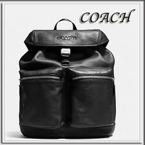 Coach(コーチ) バックパック・リュック Coach★SMOOTH LEATHER リュックサック BLACK F71728