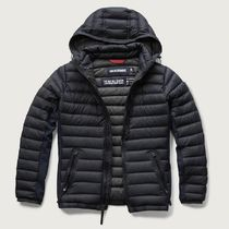 A & F All-Season Lightweight Hooded Down Jacket