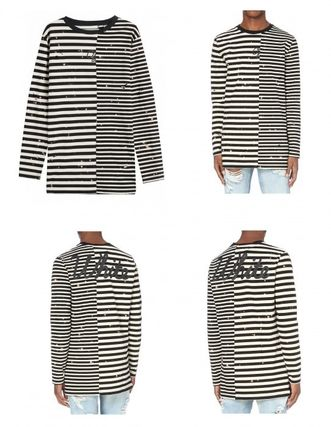 2016AW OFF-WHITE (送料/関税込) ボーダーTシャツ