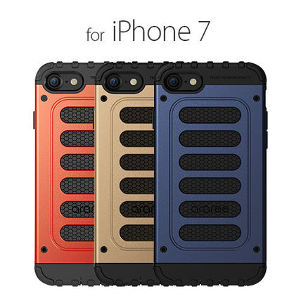 ♪iPhone7 ケース araree Wrangler Force バータイプ♪