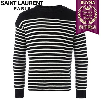 16/17秋冬入荷!┃SAINT LAURENT┃CLASSIC MARINIERE SWEATER