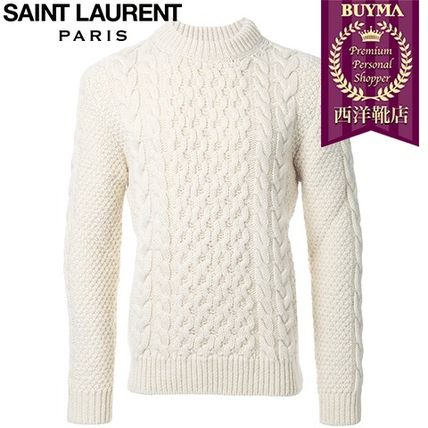 16/17秋冬入荷!┃SAINT LAURENT┃CLASSIC FISHERMAN SWEATER