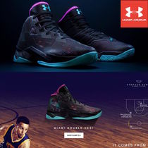 【U.S.A限定色!】UA Curry 2.5 カリー MIAMI《Limited Edition》