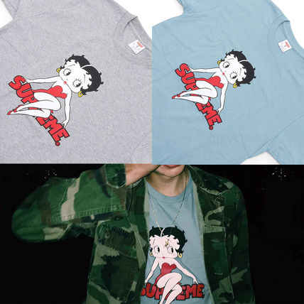 Supreme Tシャツ・カットソー Supreme Betty Boop Tee ベティ コラボ 即発 送込