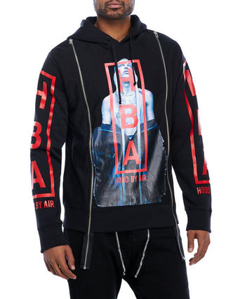 HOOD BY AIR フッドバイエアー Graphic Zipper Hoodie パーカー