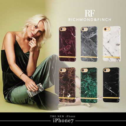 【日本総代理店】iPhone7/6s/5SE/RICHMOND&FINCH☆Marble
