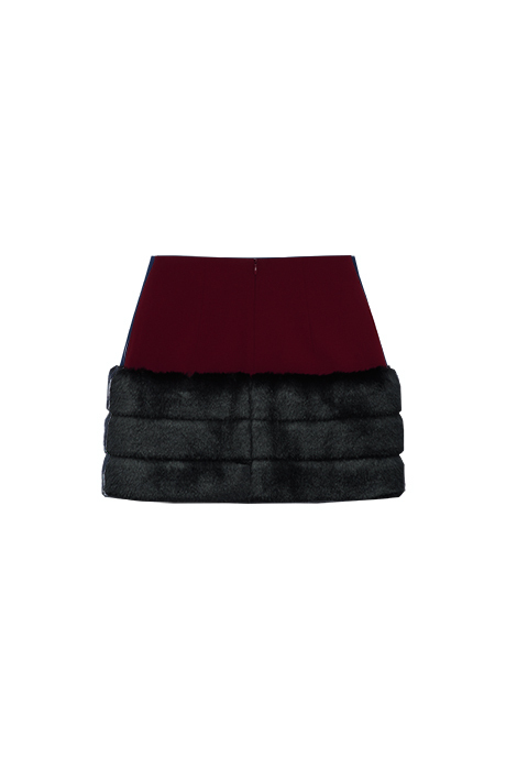 Milinのスカート Denza Fur Skirt (New)