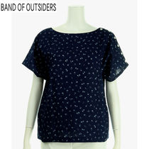 Band of Outsiders(バンドオブアウトサイダーズ) Tシャツ・カットソー BAND OF OUTSIDERS レディス プリントカットソー E706678
