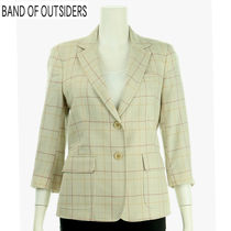 Band of Outsiders(バンドオブアウトサイダーズ) ジャケット BAND OF OUTSIDERS レディス チェックジャケット E707162