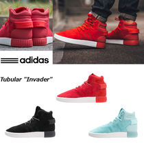 adidas(アディダス) スニーカー ◆◇adidas◇◆Tubular Invader Red/Black/Aqua