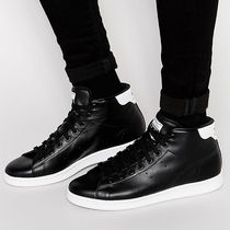 "adidas(アディダス) スニーカー [海外限定] adidas Originals Stan Smith Mid ""Core Black"""