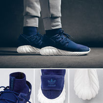 "adidas(アディダス) スニーカー [海外限定新作] adidas Tubular Doom Primeknit ""Night Marine"""