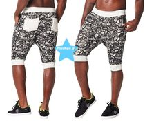 H28.9月☆【ZUMBA】City Swag Capri Sweatpants(Black)Z2B00121