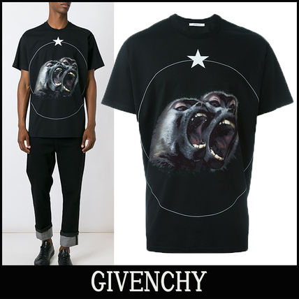 """16-17AW 新作 """"GIVENCHY"""" Monkey Brothers Tシャツ"""