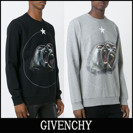 "16-17AW 新作 ""GIVENCHY"" Monkey Brothers トレーナー"