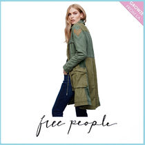 【Free People】ミリタリーロングJK Colorblock Military Parka