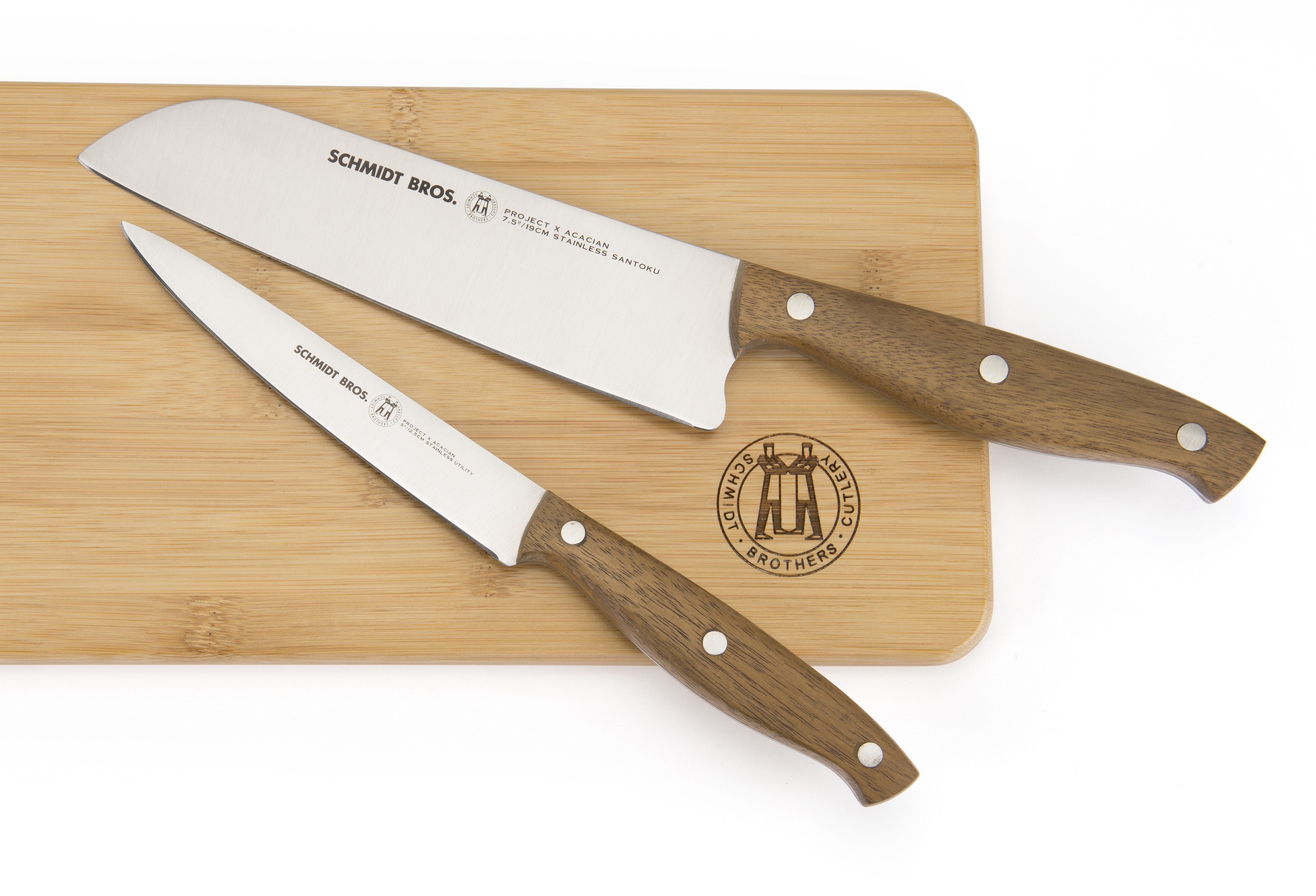 Schmidt Brothers Cutlery Project X 三徳包丁