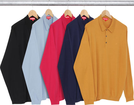 入荷SUPREME16AW★Knit L/S Polo