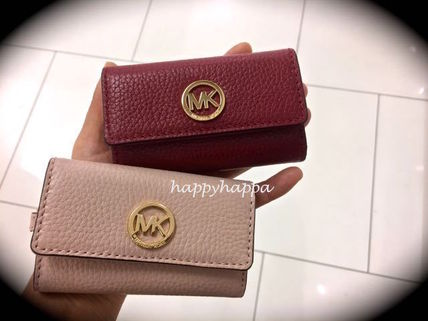 【MICHAEL KORS】新色入荷!FULTON KEY CASE柔らかレザー☆