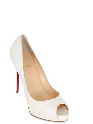 LOUBOUTIN☆aw16 関税込 120MM NEW VERY PRIVE レザー パンプス