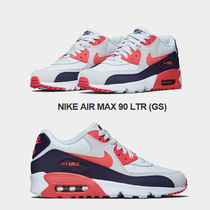 NIKE★AIR MAX 90 LTR GS★レザー★22.5~25cm★PURE PLATINUM