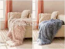 Urban Outfitters(アーバンアウトフィッターズ) ブランケット 送込_国内発送_UO*Faux Lamb Fur Throw Blanket♪