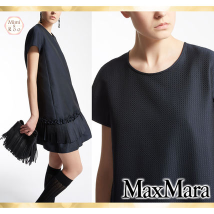 Max Mara ruffles is the beautiful cute * dress