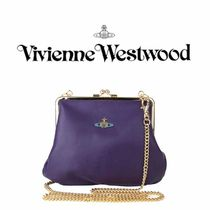 VIVIENNE WESTWOOD* NAPPA CALF ROSSO 3655 クラッチバッグ