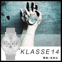 【KLASSE14】VOLARE CHRONOGRAPH SILVERMESH42mm☆国内発送