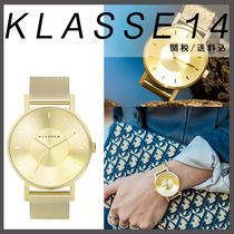 【KLASSE14】VOLARE GOLD WITH MESH 42mm☆国内発送