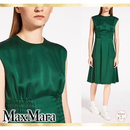 Max Mara simple Kira eyes dress