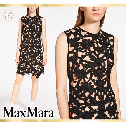 Max Mara beautiful cutting * dress