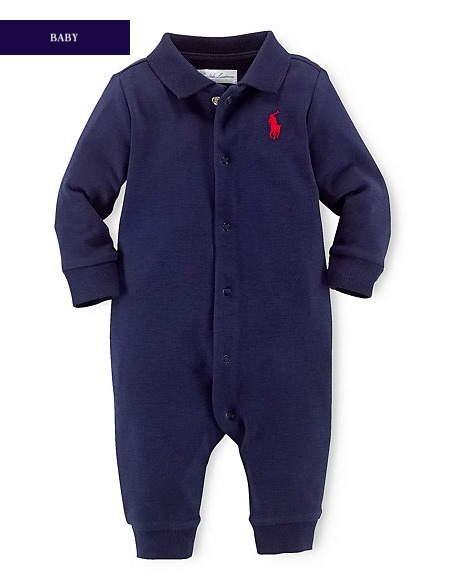 新作♪国内発送 4色  SOLID COTTON COVERALL boys 0~24M