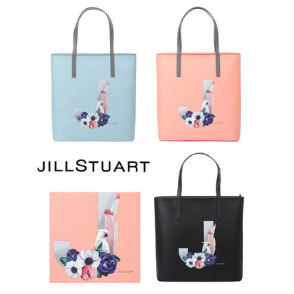 (人気) JILLSTUART★Logo Print Shoulder Bag (EMS配送)