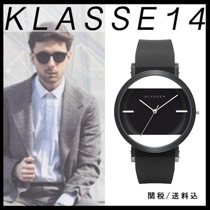 送料&税込【KLASSE14】IMPERFECT BLACK SQUARE 41mm☆