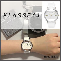 送料&税込【KLASSE14】IMPERFECT White SQUARE 41mm☆