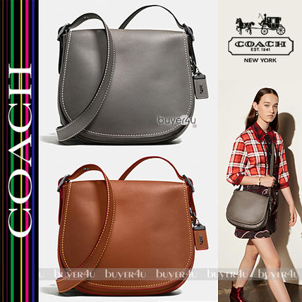 COACH★SADDLE BAG IN BURNISHED GLOVETANNED LEATHER 38199