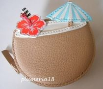 sale!kate spade-breath of fresh air coconut coin purse