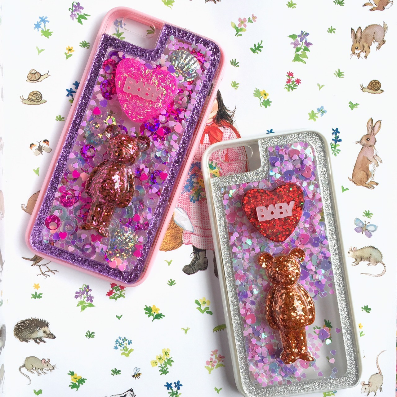 ★xmagic★エックスマジック★I-Phone Case★BABY BEAR★