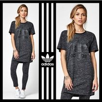 大人気☆adidas☆ Trefoil T-Shirt Dress ロゴ Tシャツ