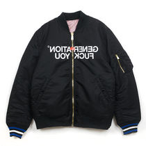 Supreme × UNDERCOVER 16AW Reversible MA-1 黒 Size MEDIUM