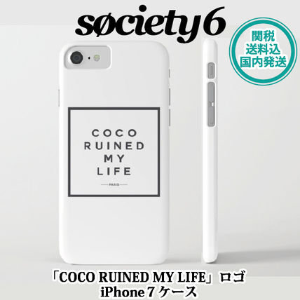 -society6-COCO RUINED MY LIFE iPhone7ケース関送込+国内発送